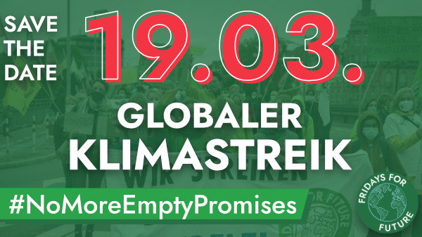 Globaler Klimastreik am 19032021 - Fridays for Future Freiburg